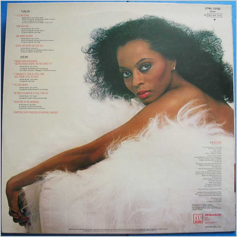 Diana Ross - To Love Again (STML 12152)