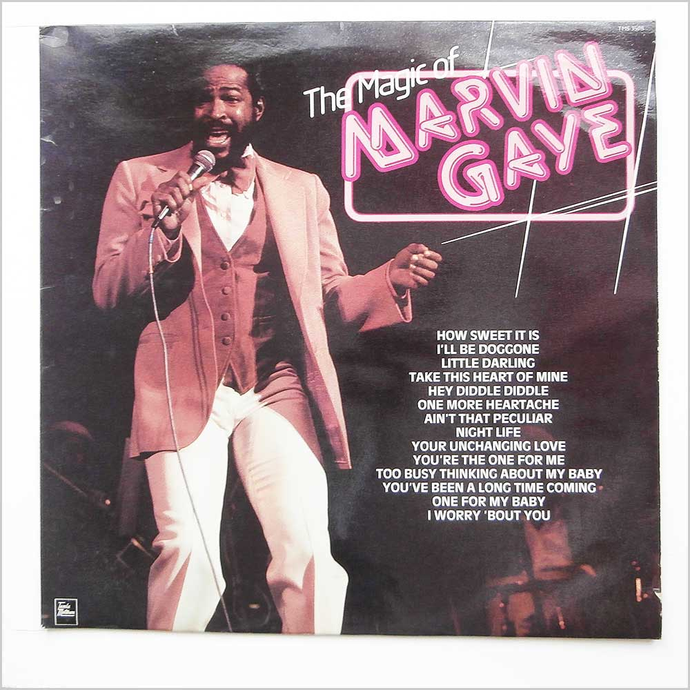 Marvin Gaye - The Magic Of Marvin Gaye (TMS 3508)