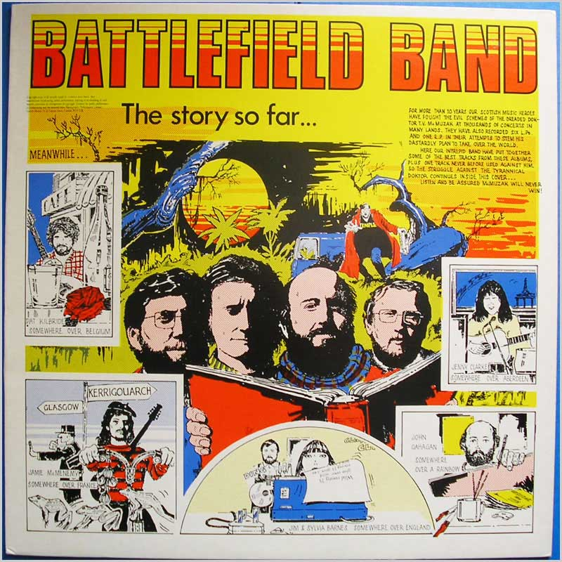 Battlefield Band - The Story So Far (TP007)