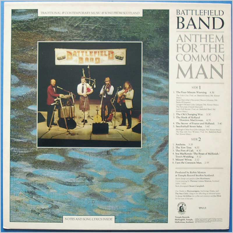 Battlefield Band - Anthem For The Common Man (TP015)