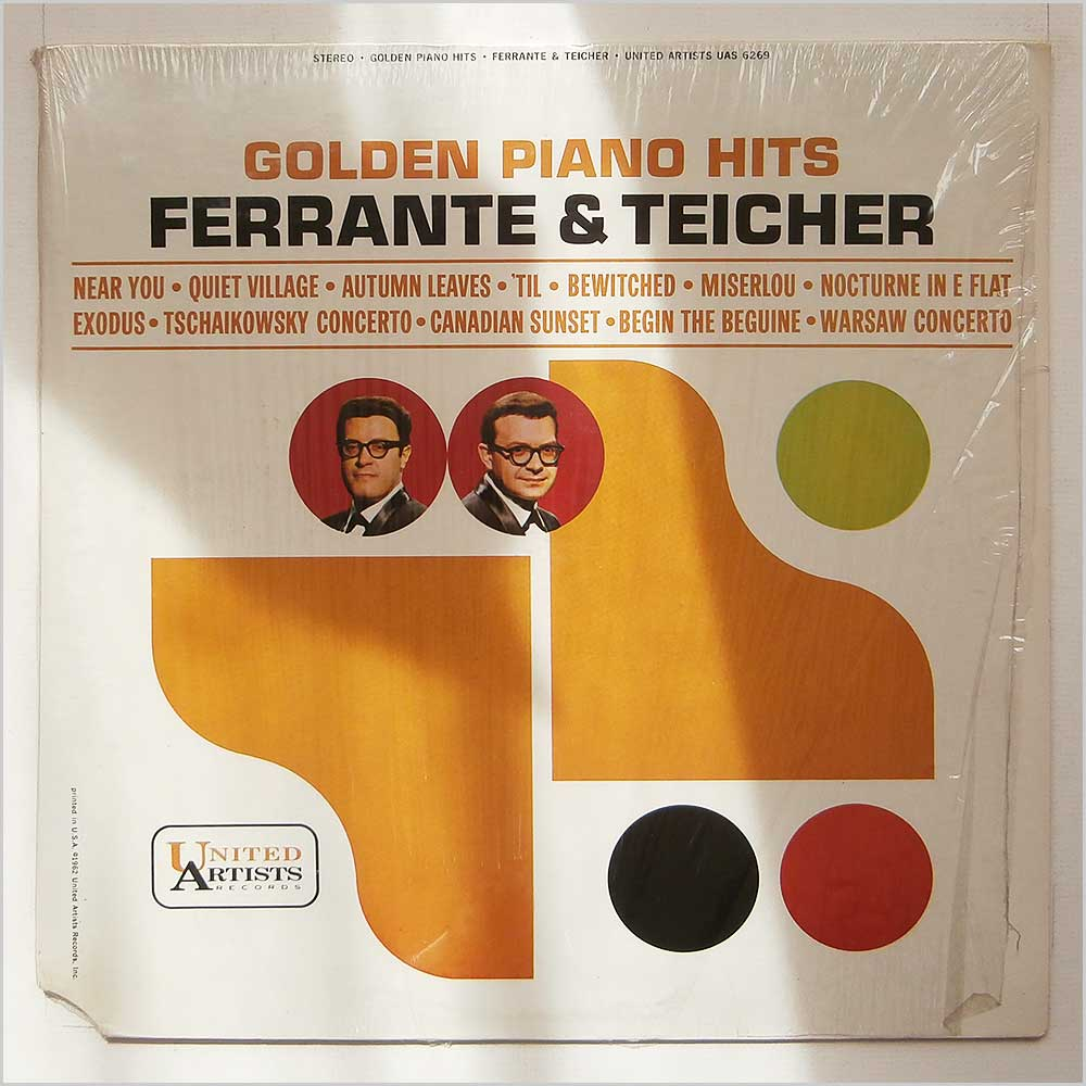 Ferrante Teicher Golden Piano Hits