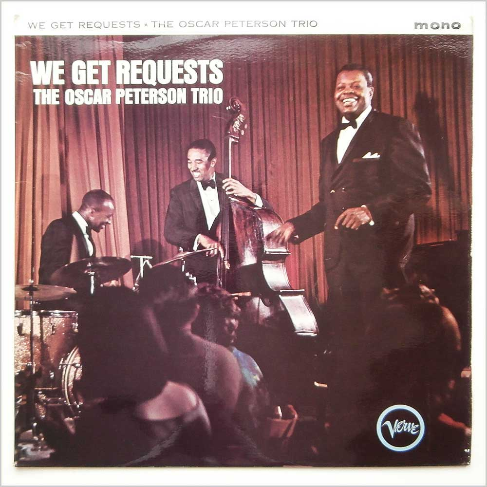 THE OSCAR PETERSON TRIO - We Get Requests - LP