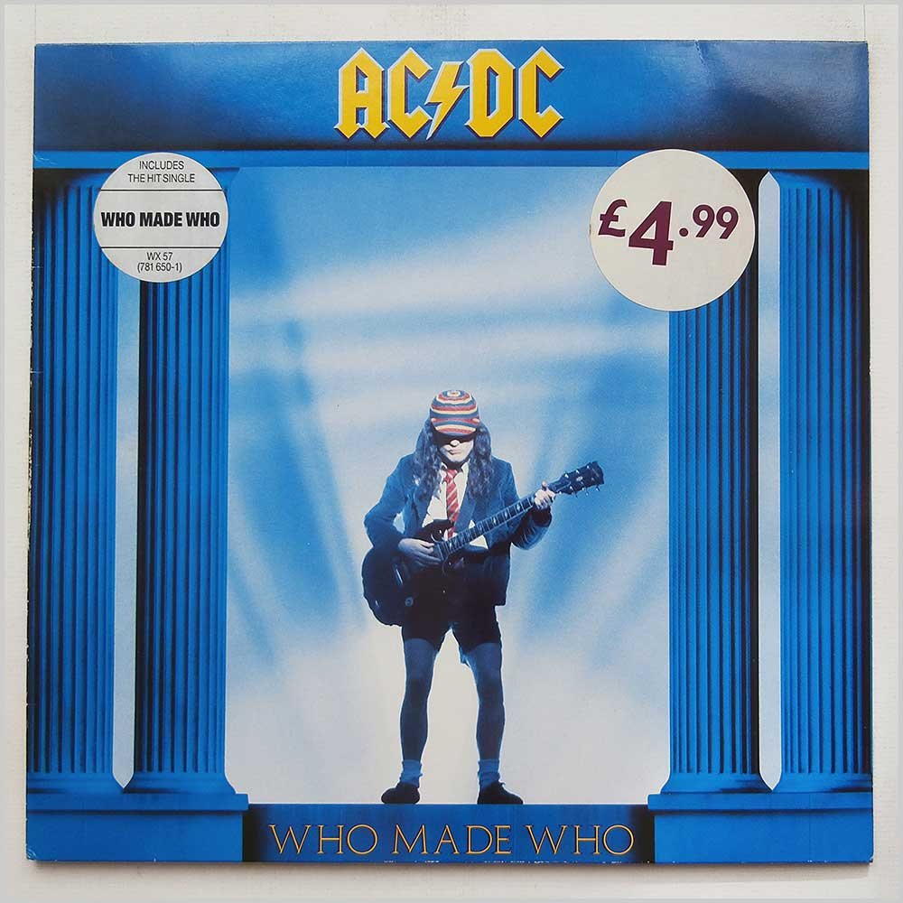 AC/DC - Who Made Who (WX 57)