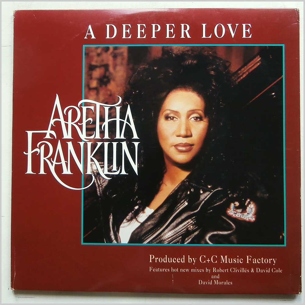 Aretha Franklin - A Deeper Love (07822-12651-1)