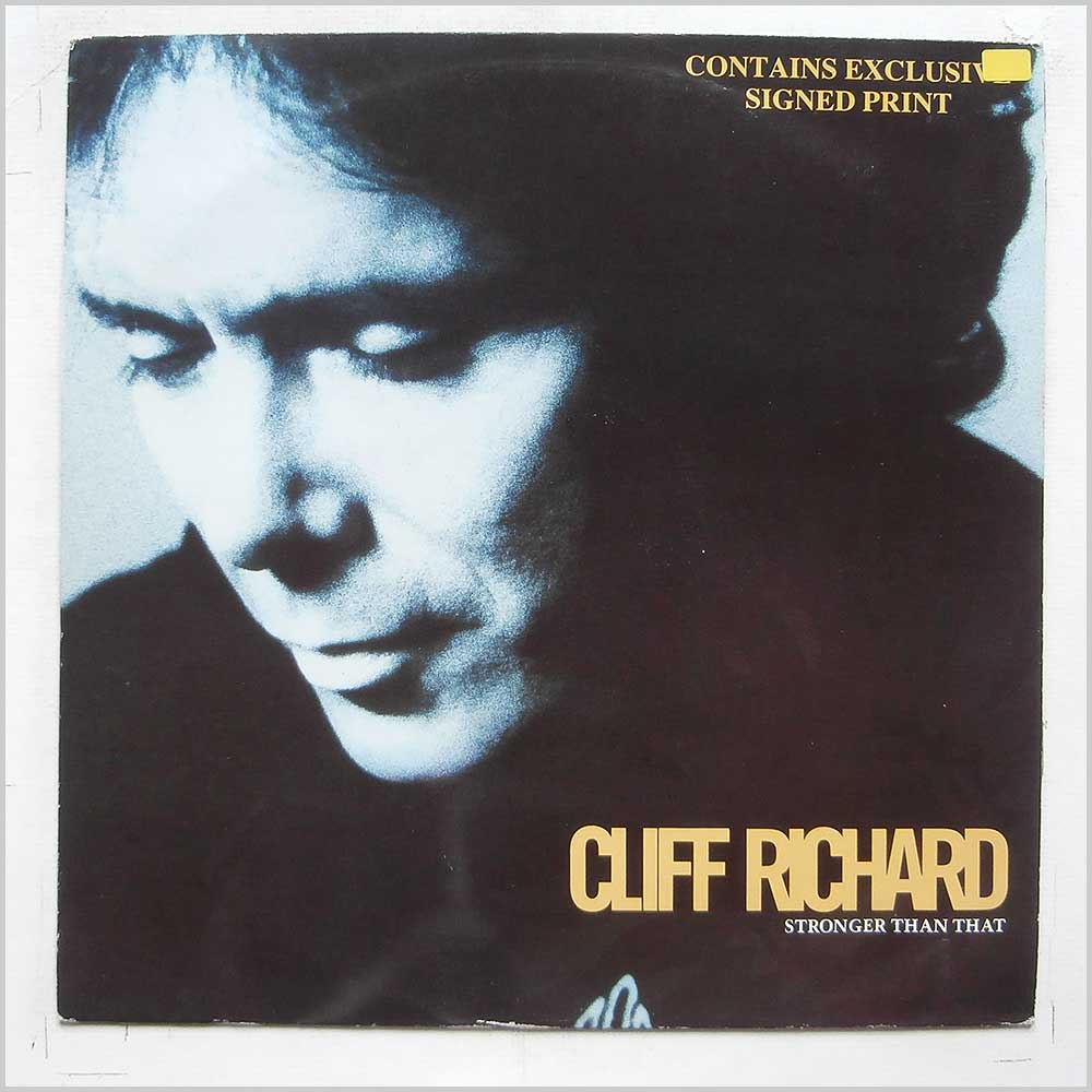 Cliff Richard - Stronger Than That (12 EMP 129)