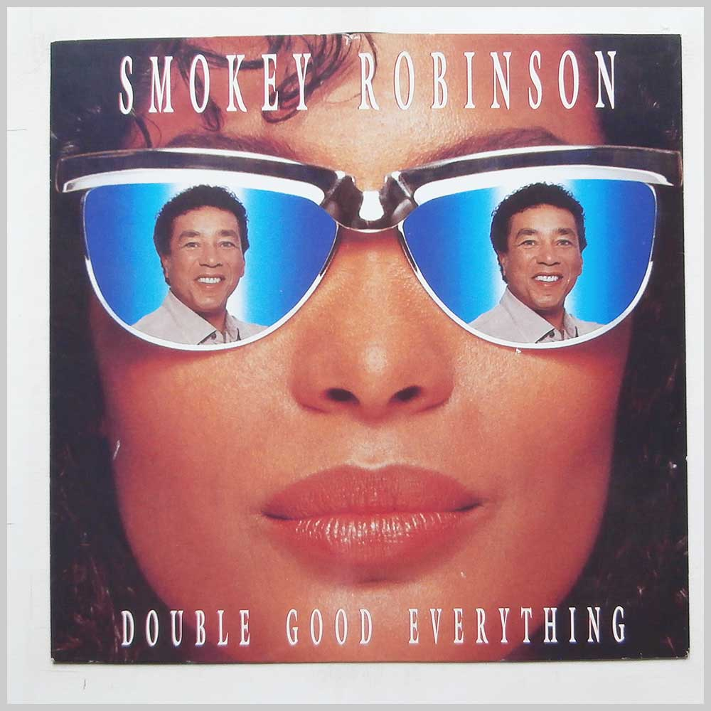 SMOKEY ROBINSON - Double Good Everything - 12 inch 45 rpm