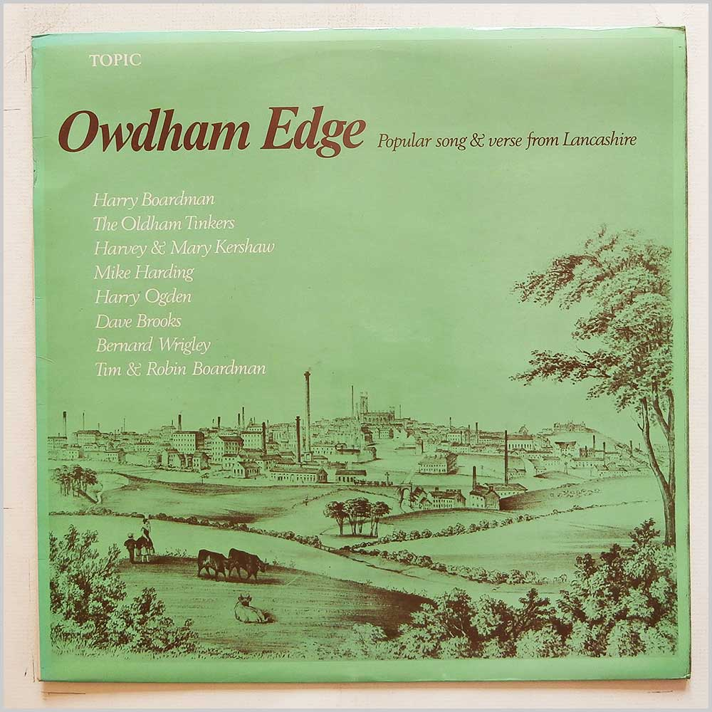 Various - Owdham Edge: Popular Song and Verse From Lancashire (12T204)