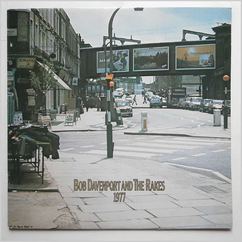 Bob Davenport and The Rakes - 1977 (12TS350)