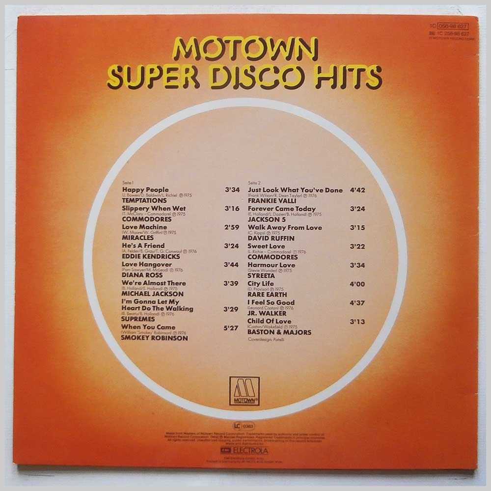 Various - Motown-Super Disco Hits (1C 058-98 627)