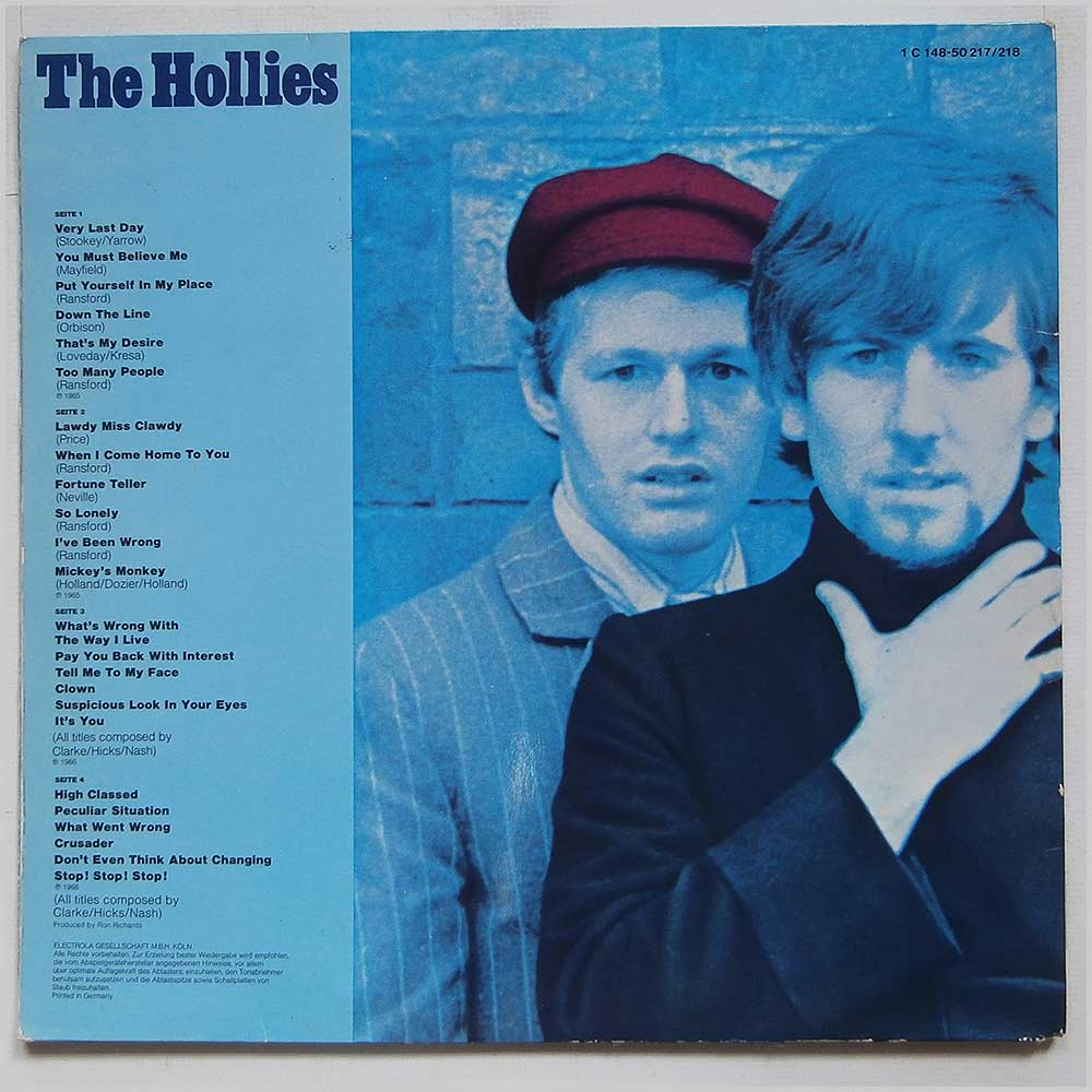 The Hollies - The Hollies (1 C 148-50217/218)
