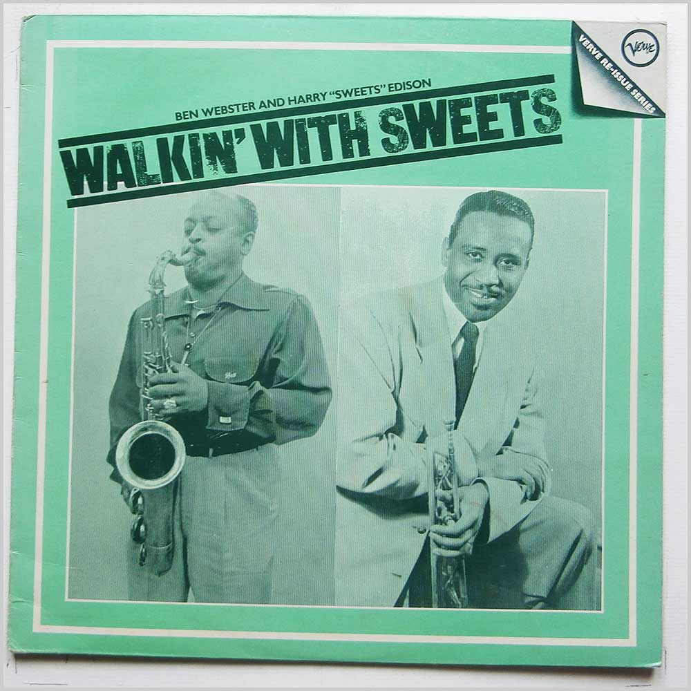 Ben Webster and Happy Sweets Edison - Walkin' With Sweets (2317 109)