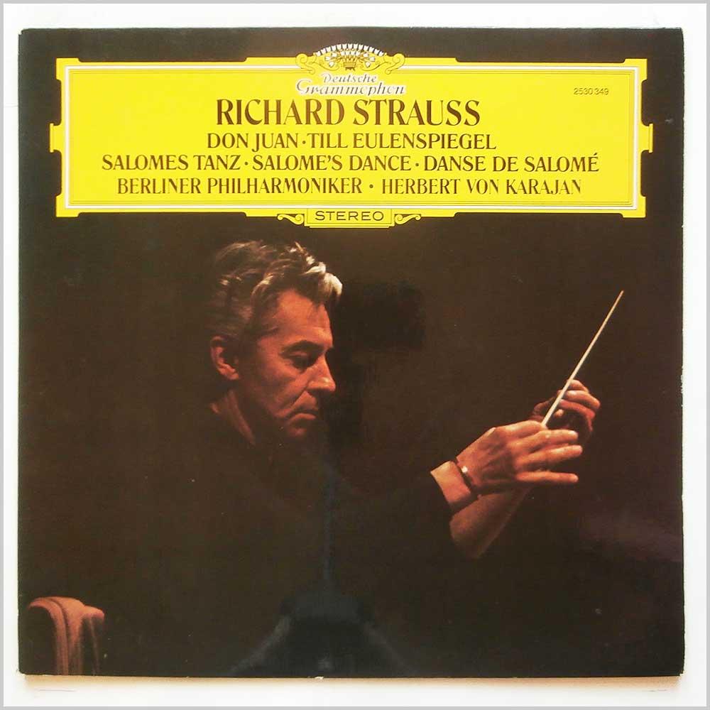 herbert von karajan, berliner philharmoniker richard strauss: don juan, till eulenspiegel, salomes tanz