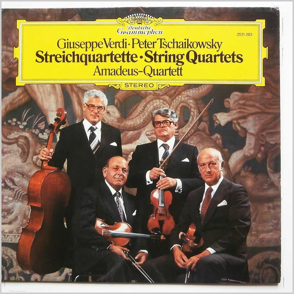 amadeus quartett giuseppe verdi, peter tschaikowksy: streichquartette, string quartets