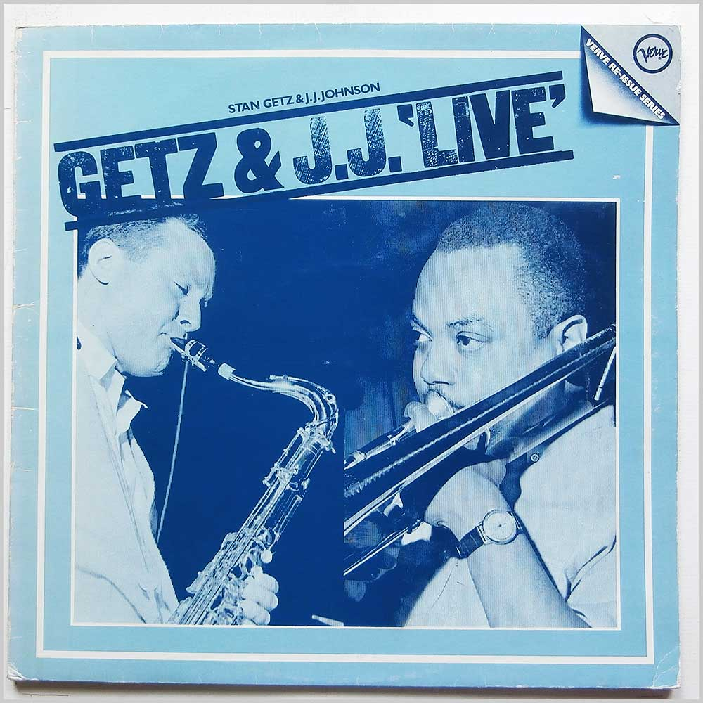 Stan Getz and J.J. Johnson - Getz And J.J. Live (2610 021)