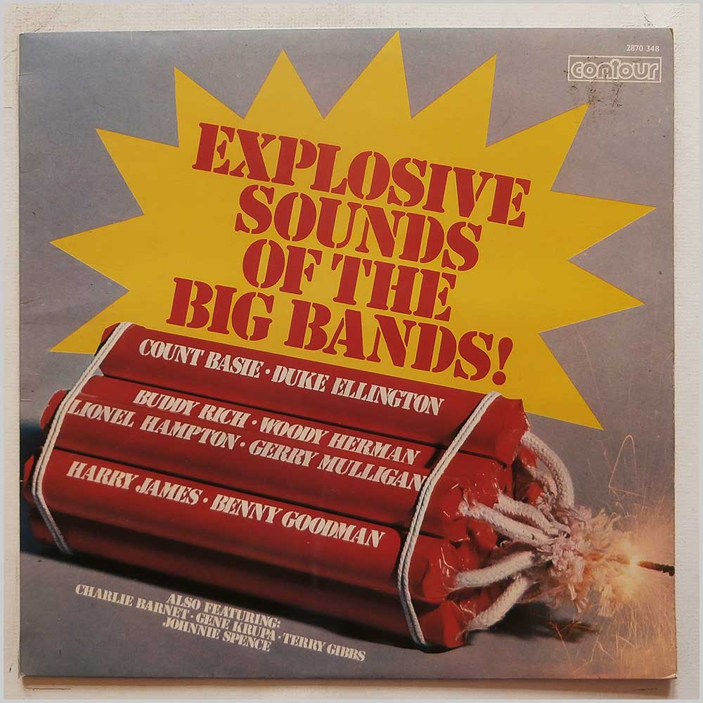 Various - Explosive Sounds Of The Big Bands (2870 348)