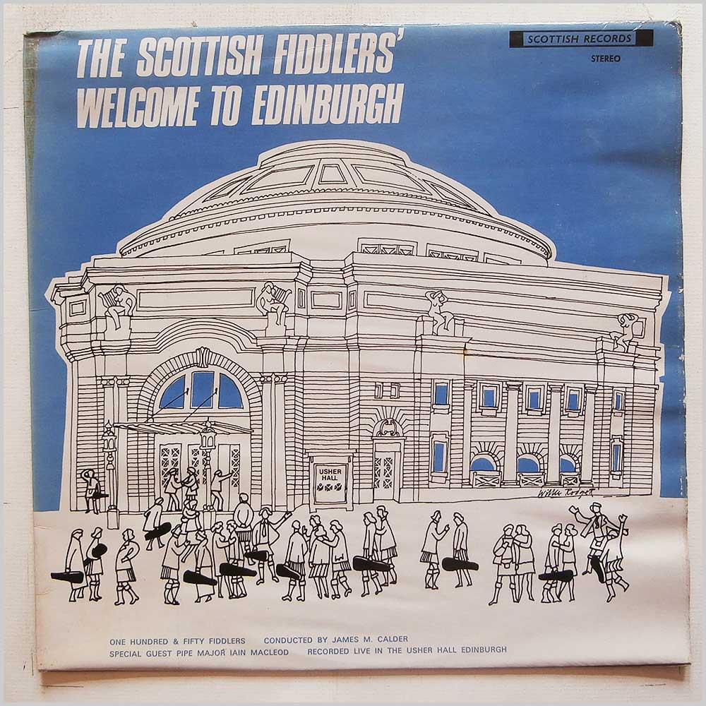 Various - Scottish Fiddlers' Welcome To Edinburgh (33 SR 141)