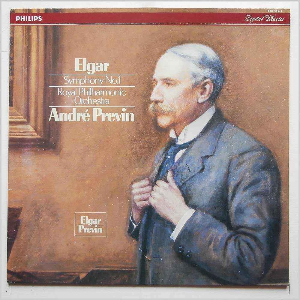 Andre Previn, Royal Philharmonic Orchestra - Elgar: Symphony No.1 (416 612-1)
