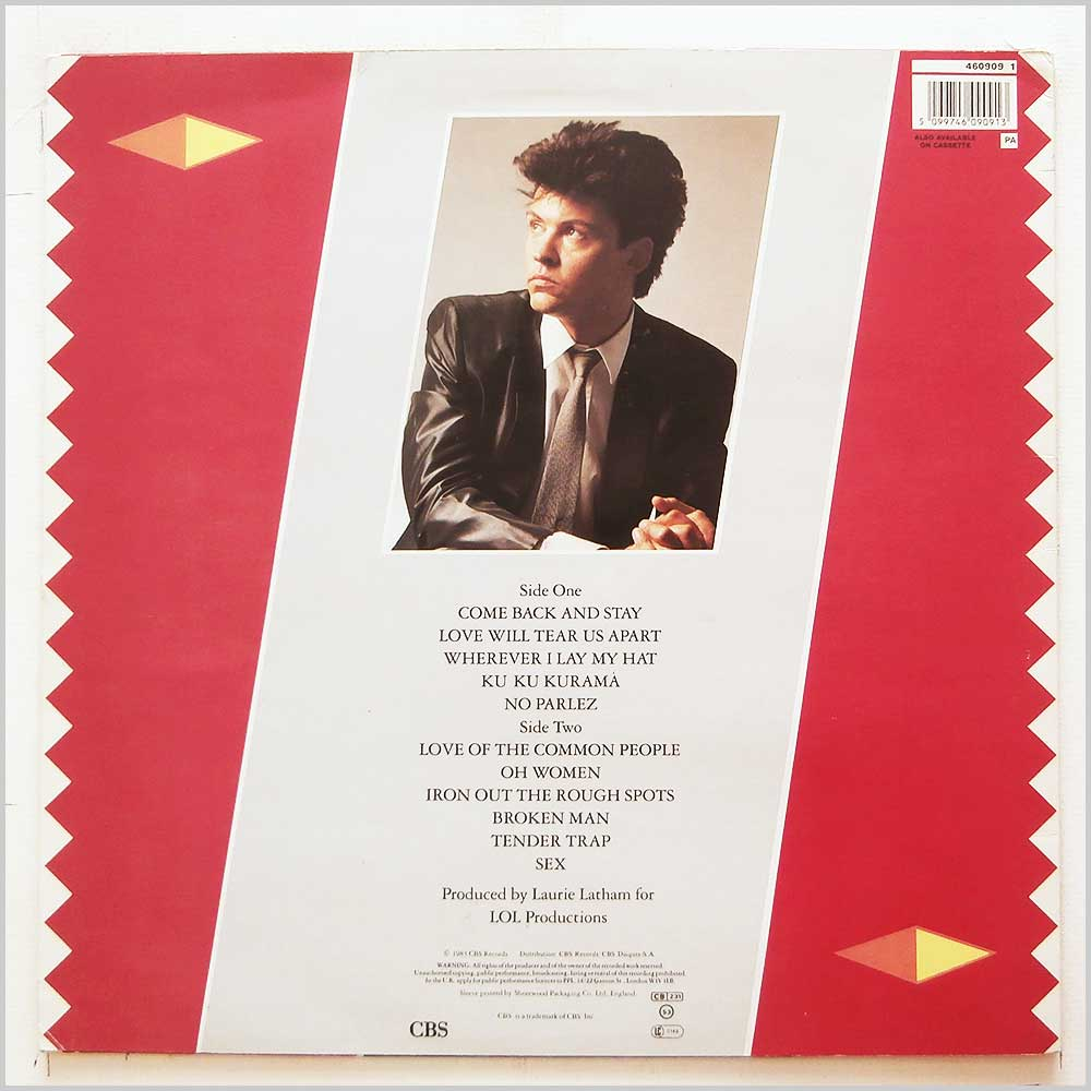 Paul Young - No Parlez (460909 1)