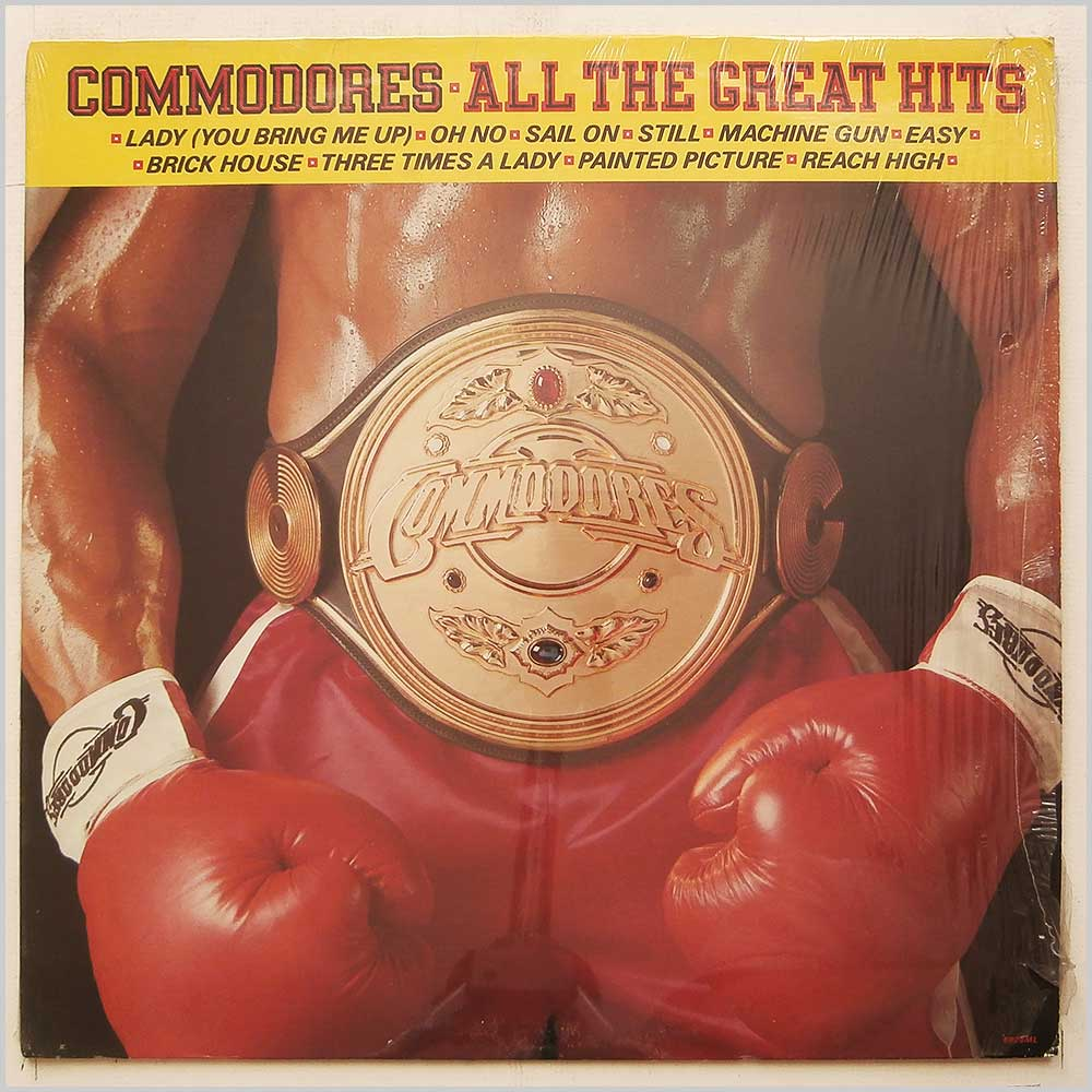 Commodores - All The Great Hits (6028ML)