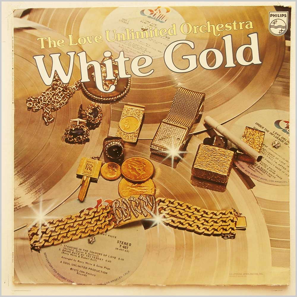 Love Unlimited Orchestra - White Gold (6370 215)