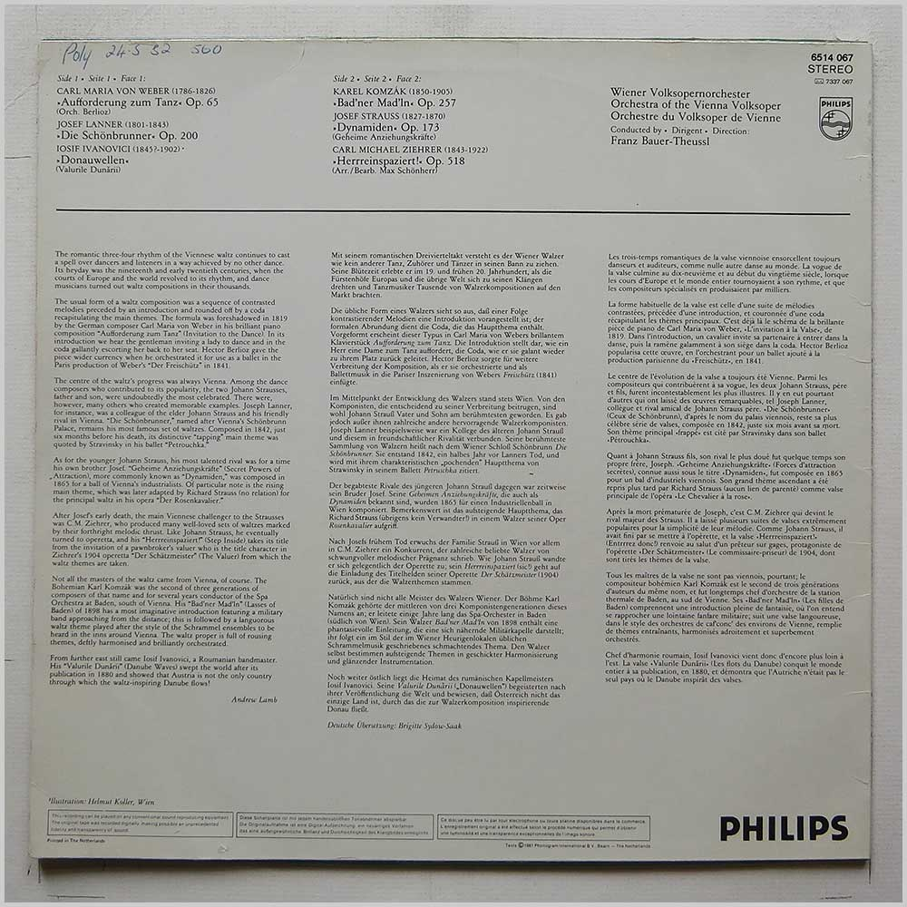 Philips-Records Classical Music Record LP for sale - RecordsMerchant