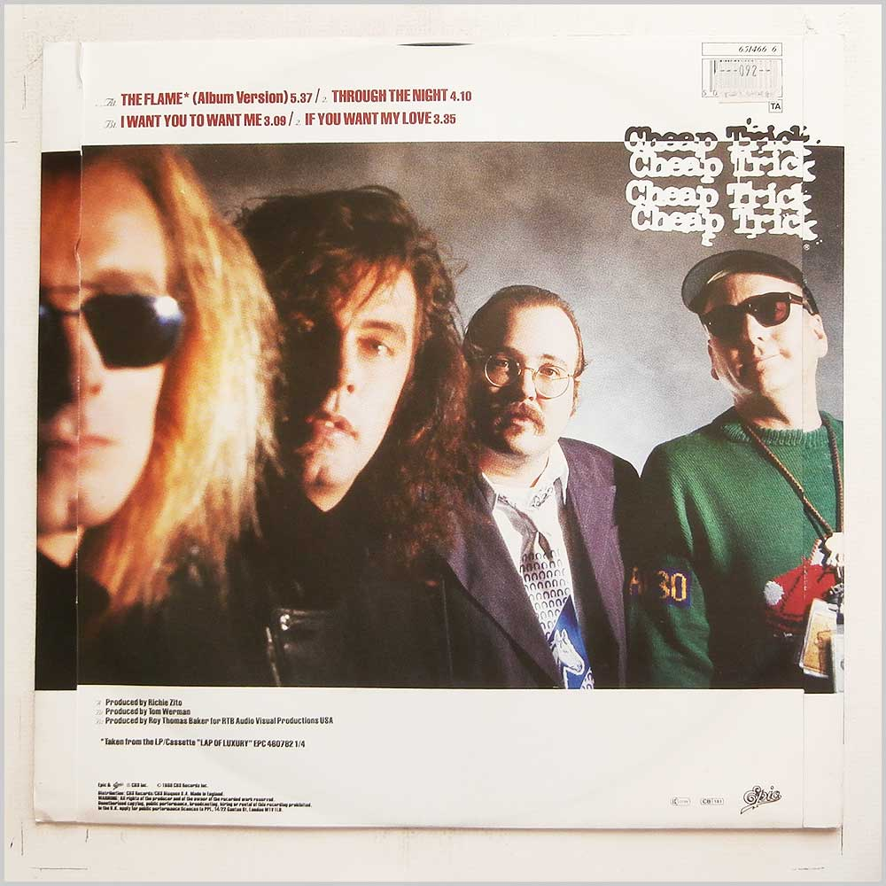 Cheap Trick - The Flame (651466 6)