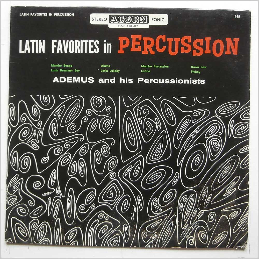 Ademus And His Percussionists - Latin Favorites In Percussion (655)