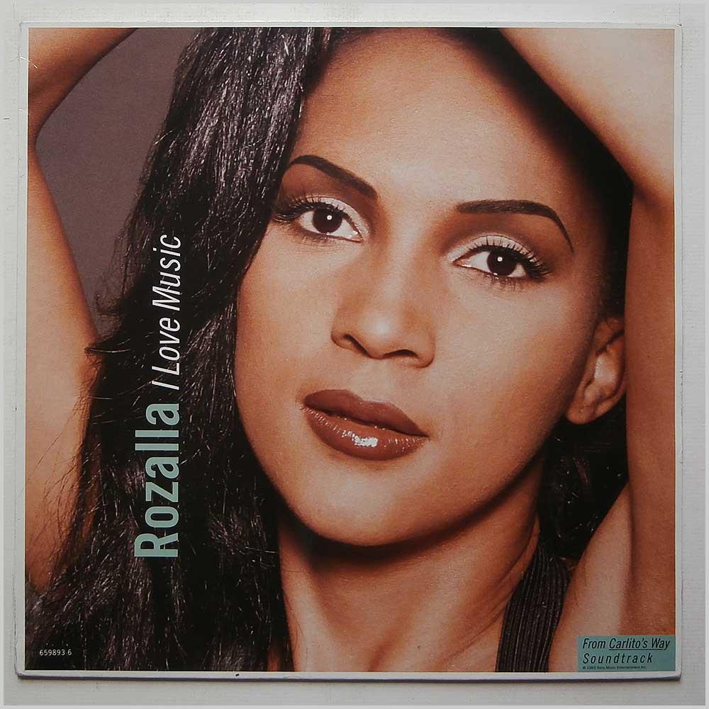 ROZALLA - I Love Music - 12 inch 45 rpm