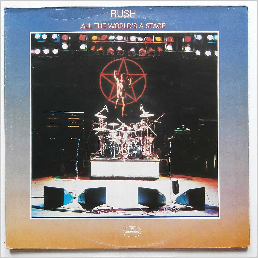 Rush - All The World's A Stage (6672 015)