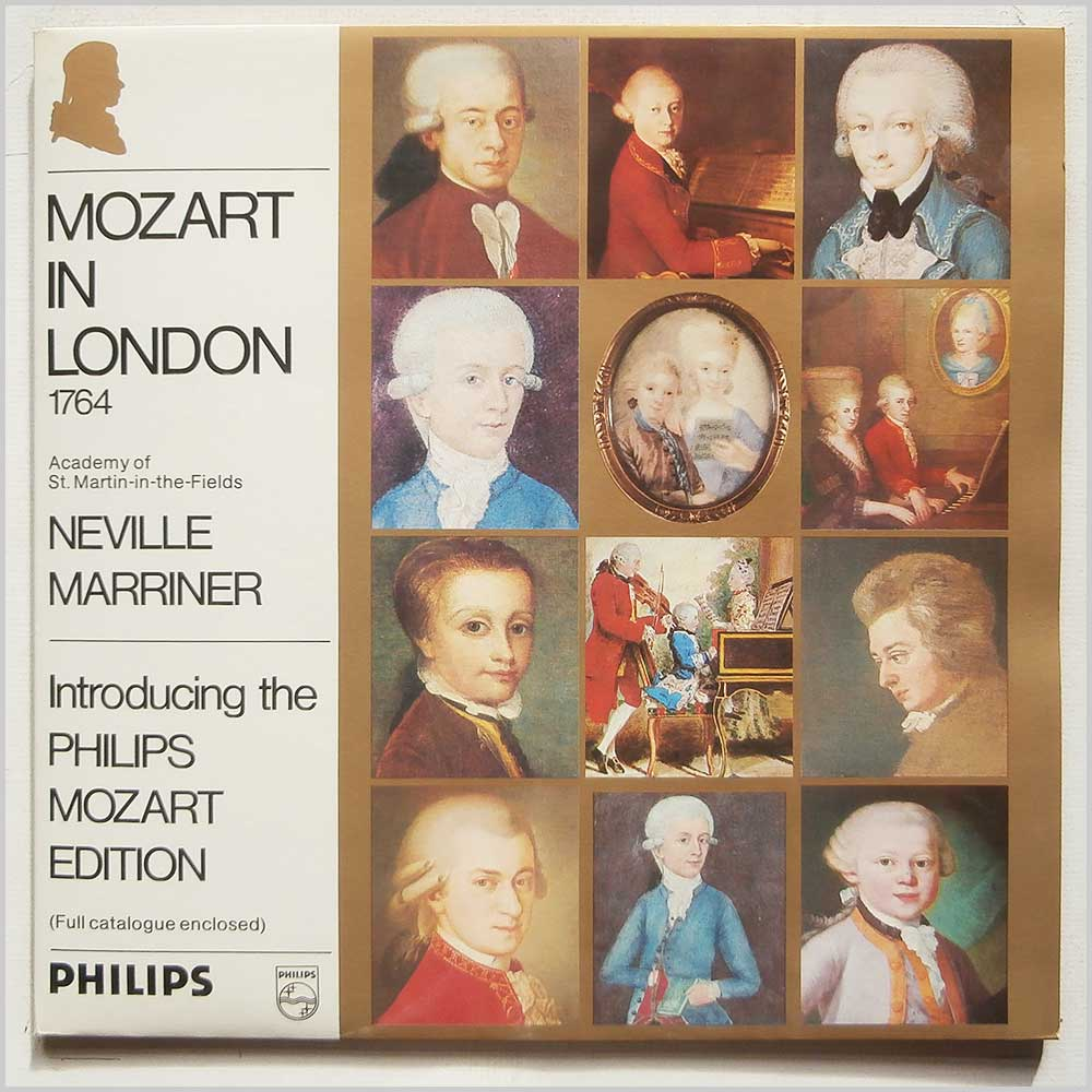 Neville Marriner, Academy Of St. Martin-in-the-Fields - Mozart in London 1764 (6833 222)
