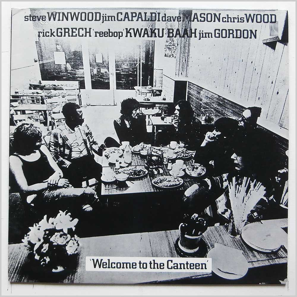 Traffic - Welcome To The Canteen (7 90924-1)