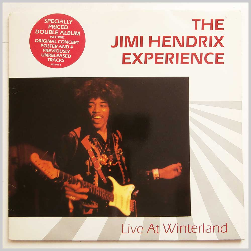 The Jimi Hendrix Experience - Live At Winterland (833 004-1)
