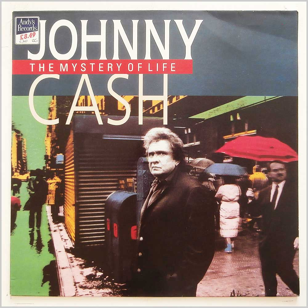 Johnny Cash - The Mystery Of Life (848 051-1)
