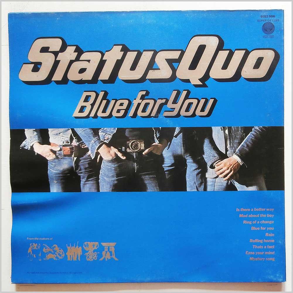 Status Quo Vinyl Record Rock Blues Music Lp Rock Music