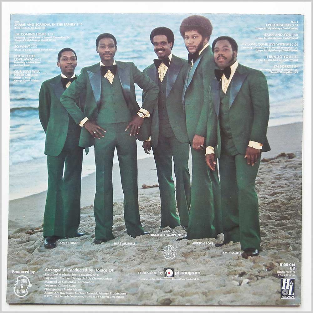 The Stylistics - Sun And Soul (9109 014)