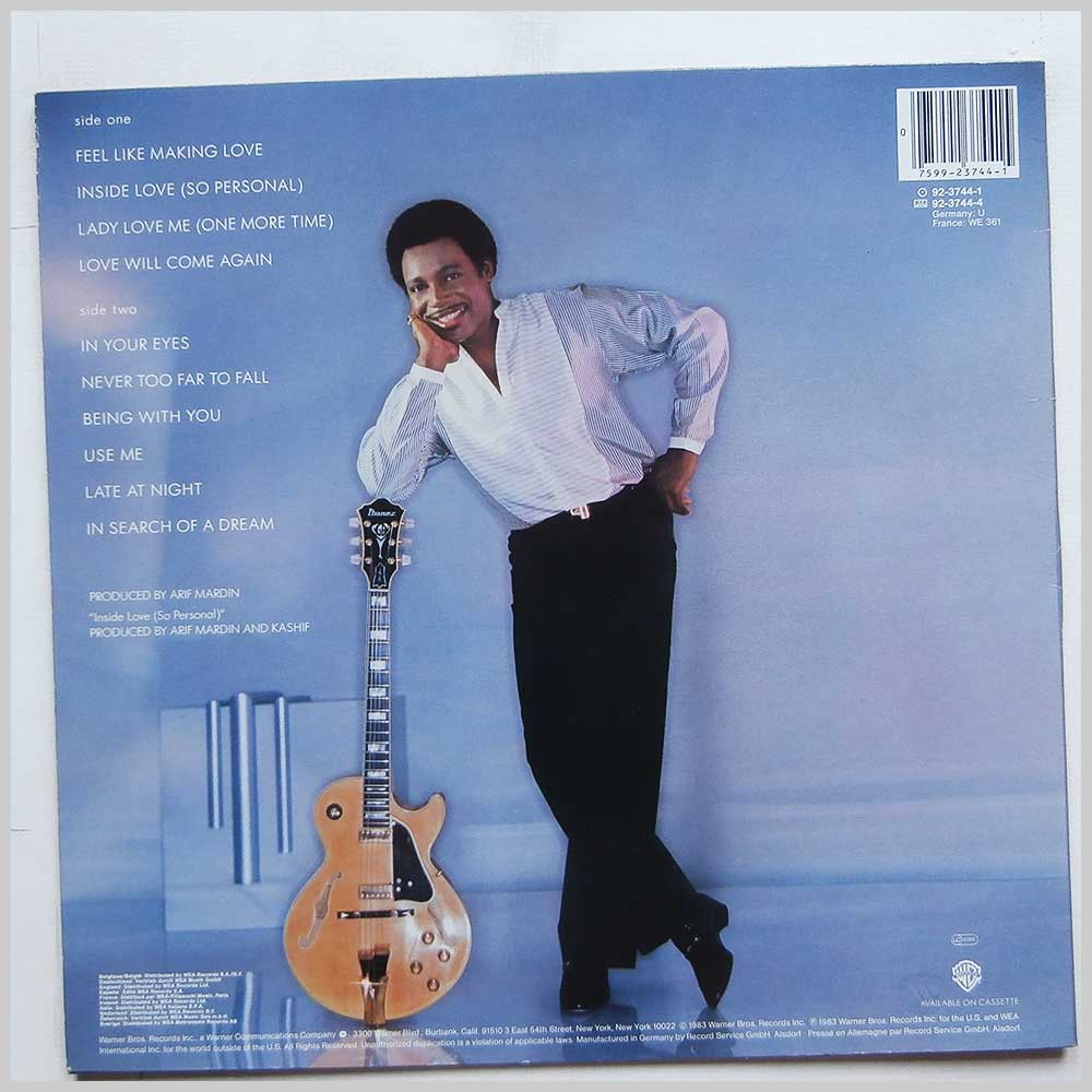 George Benson - In Your Eyes (92-3744-1)