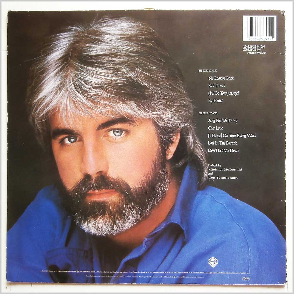 Michael McDonald - No Lookin' Back (925291-1)
