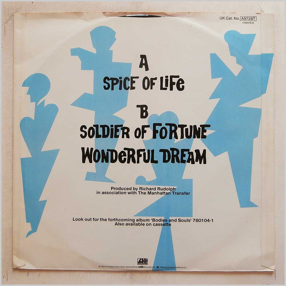The Manhattan Transfer - Spice Of Life (A9728T)