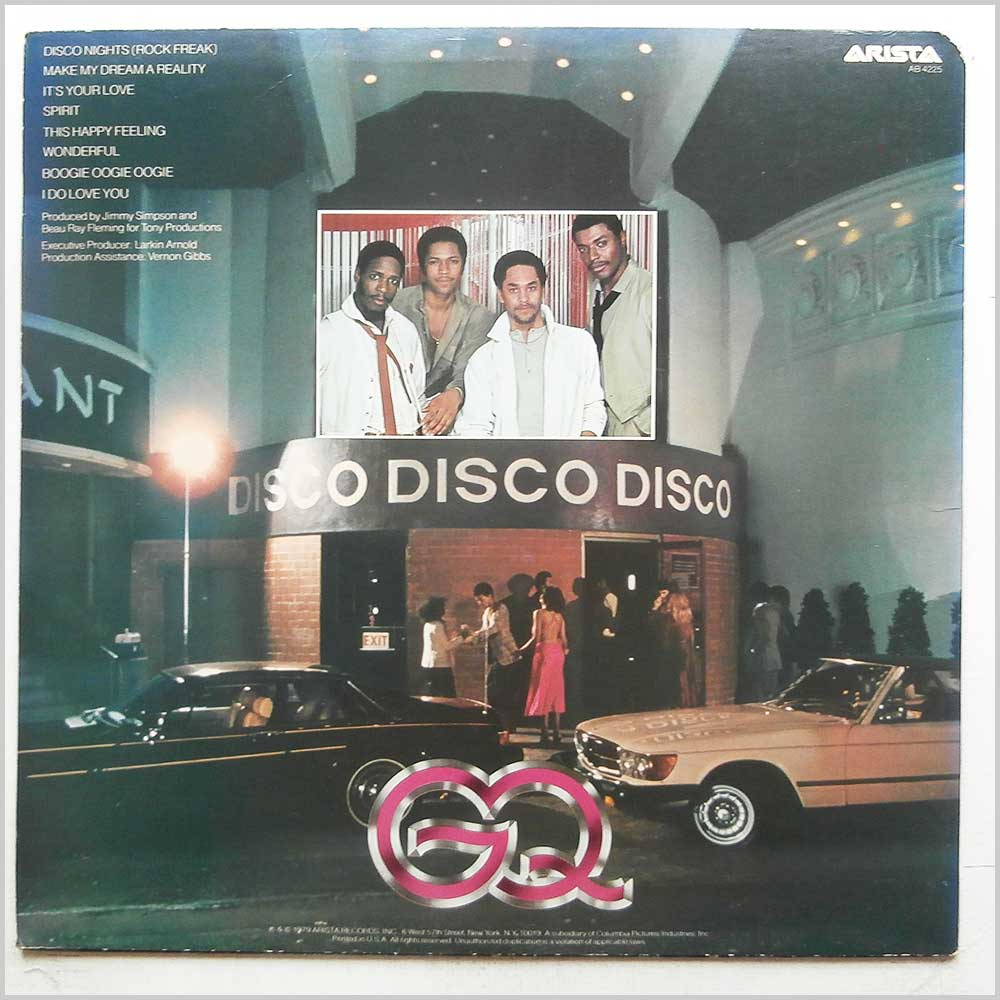 GQ - Disco Nights (AB 4225)