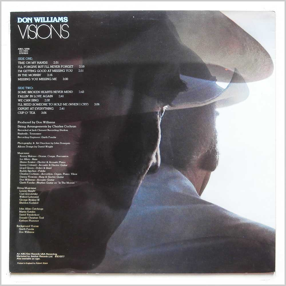 Don Williams - Visions (ABCL 5200)