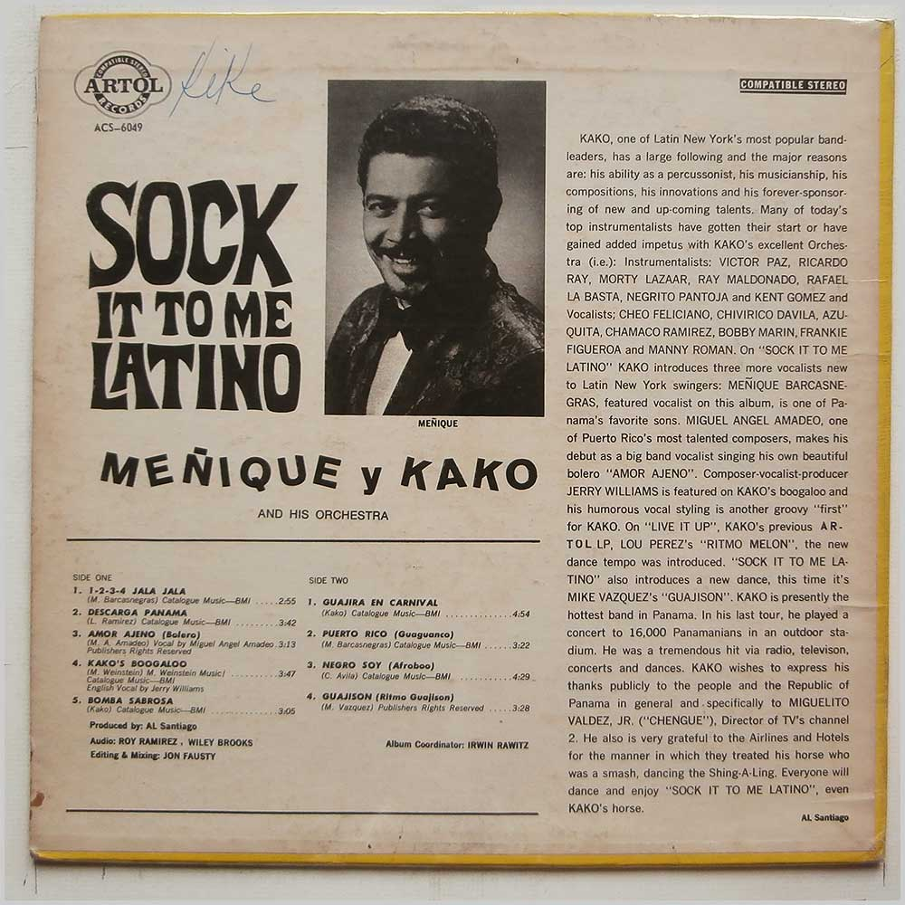 Menique Y Kako - Sock It To Me, Latino (ACS-6049)