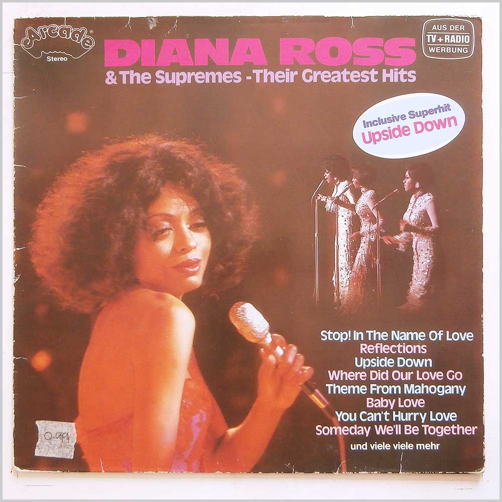 Diana Ross - Diana Ross and The Supremes: Their Greatest Hits (ADE G 122)