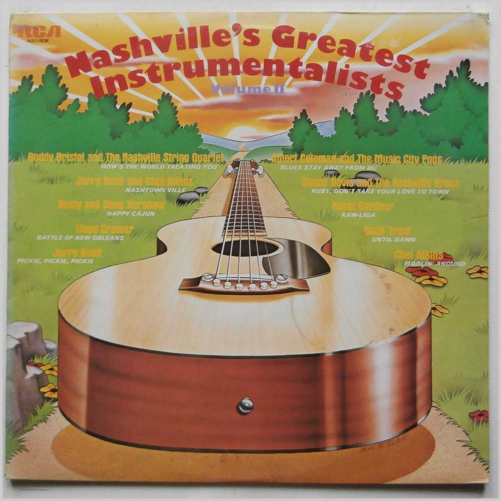 Various - Nashville's Greatest Instrumentalists Vol.II (AJL1-0536)