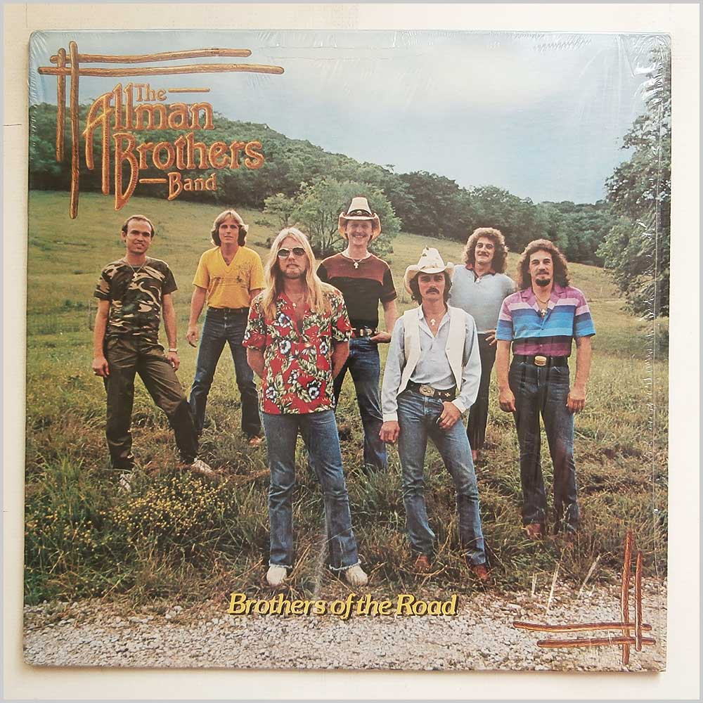 The Allman Brothers Band - Brothers Of The Road (AL 9564)