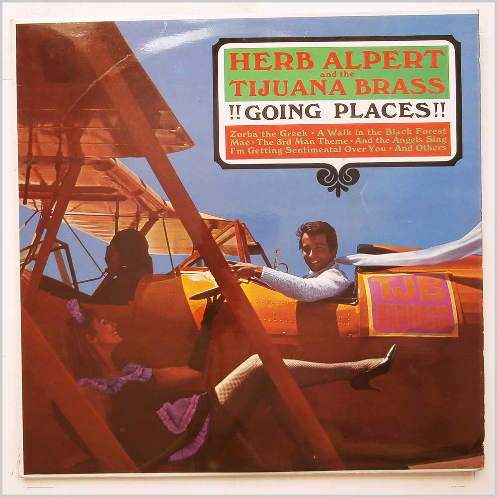HERB ALPERT AND THE TIJUANA BRASS - Going Places - 33T