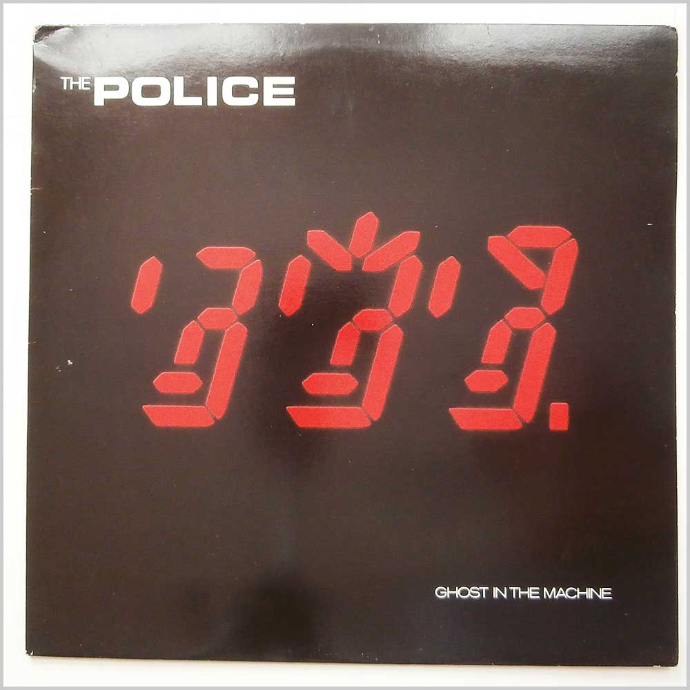 The Police - Ghost In The Machine (AMLK 63730)