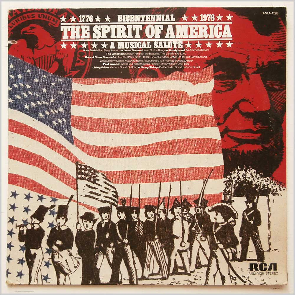 Various - The Spirit Of America (ANL1-1128)
