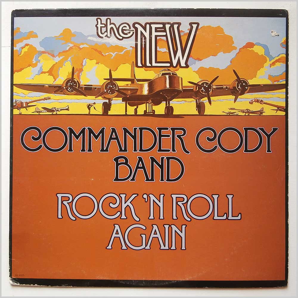 The New Commander Cody Band - Rock N' Roll Again (ARISTA 4125)