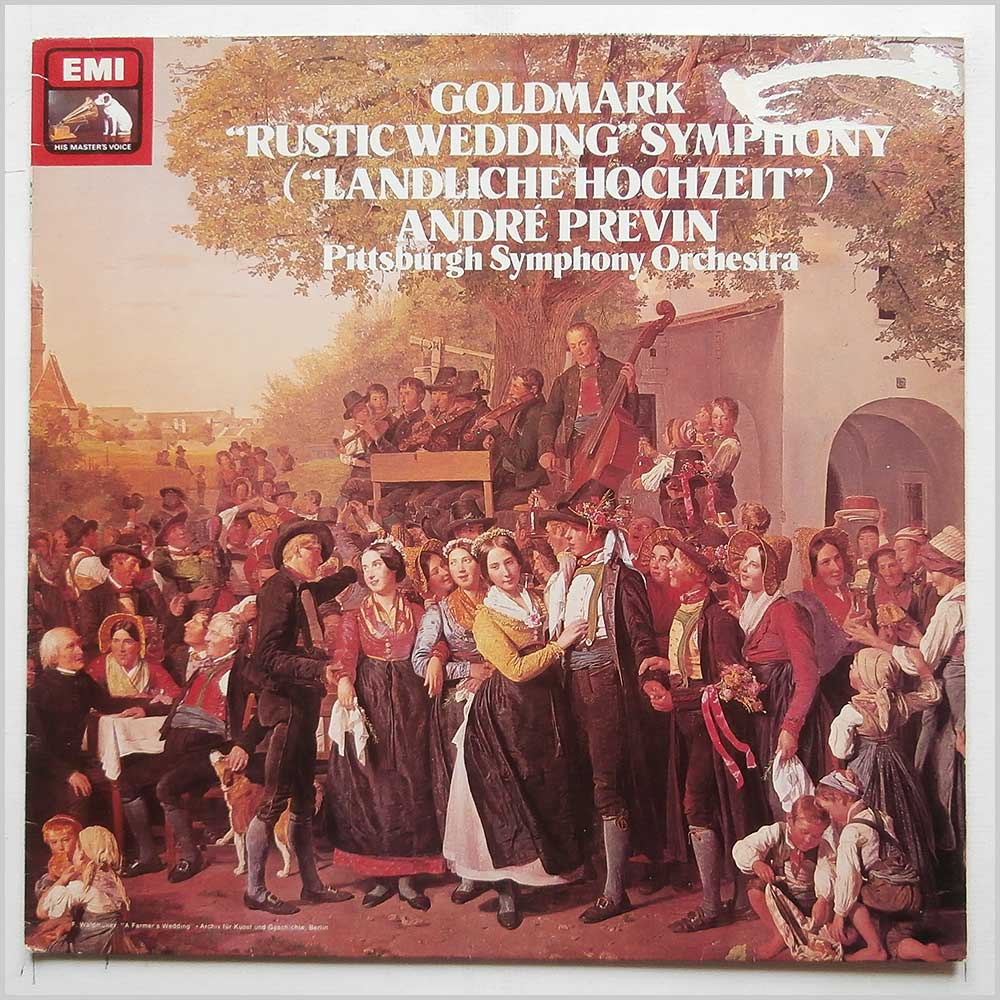 Andre Previn, Pittsburgh Symphony Orchestra - Goldmark: Rustic Wedding Symphony (ASD 3891)