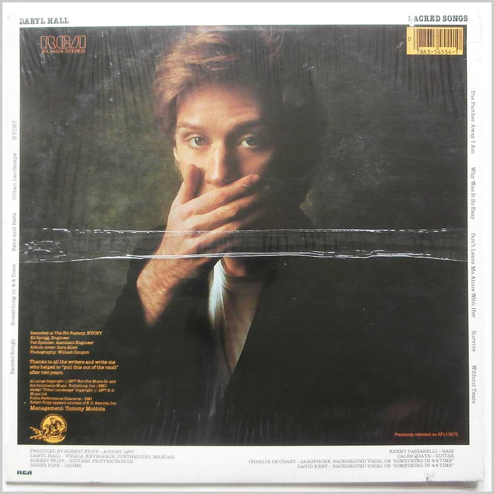 Daryl Hall - Sacred Songs (AYL1-4554)
